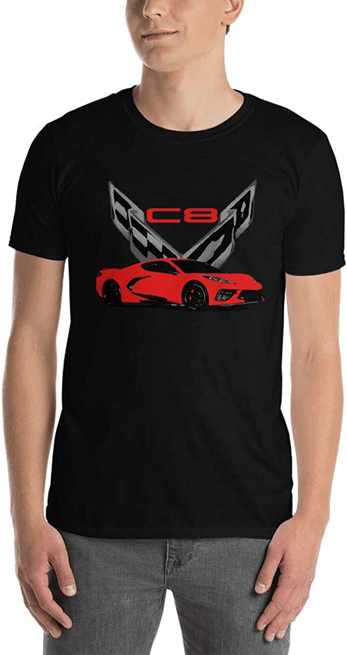 JG Infinite Chevy C4 Corvette ZR1 Short-Sleeve Unisex T-Shirt