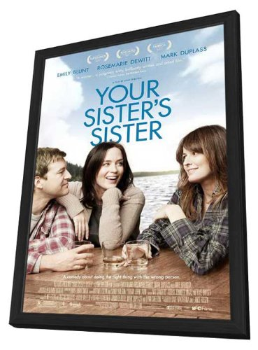 Your Sister's Sister 11 x 17 Movie Poster - Style A - in Deluxe Wood Frame