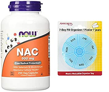 Amazon.com: AHORA NAC 600 mg, cápsulas de 250 Veg con gratis ...