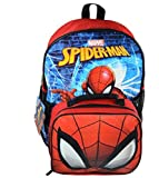 2018 Spider-man 16' Backpack With Lunch Bag