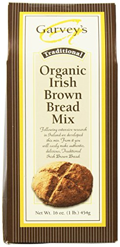 Garvey's Traditional Organic Irish Brown Bread Mix, 16-Ounce Packages (Pack of 5) ()