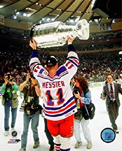 "Mark Messier New York Rangers NHL Stanley Cup Photo (Size: 8"" x 10"")"