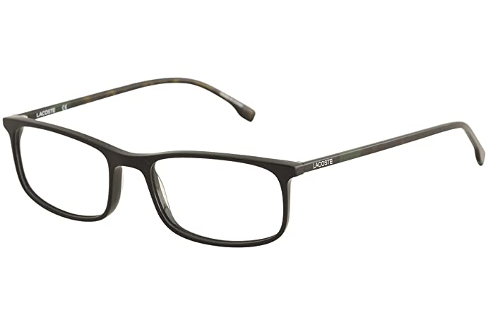 Eyeglasses LACOSTE L 2808 001 BLACK at Amazon Men\'s Clothing store: