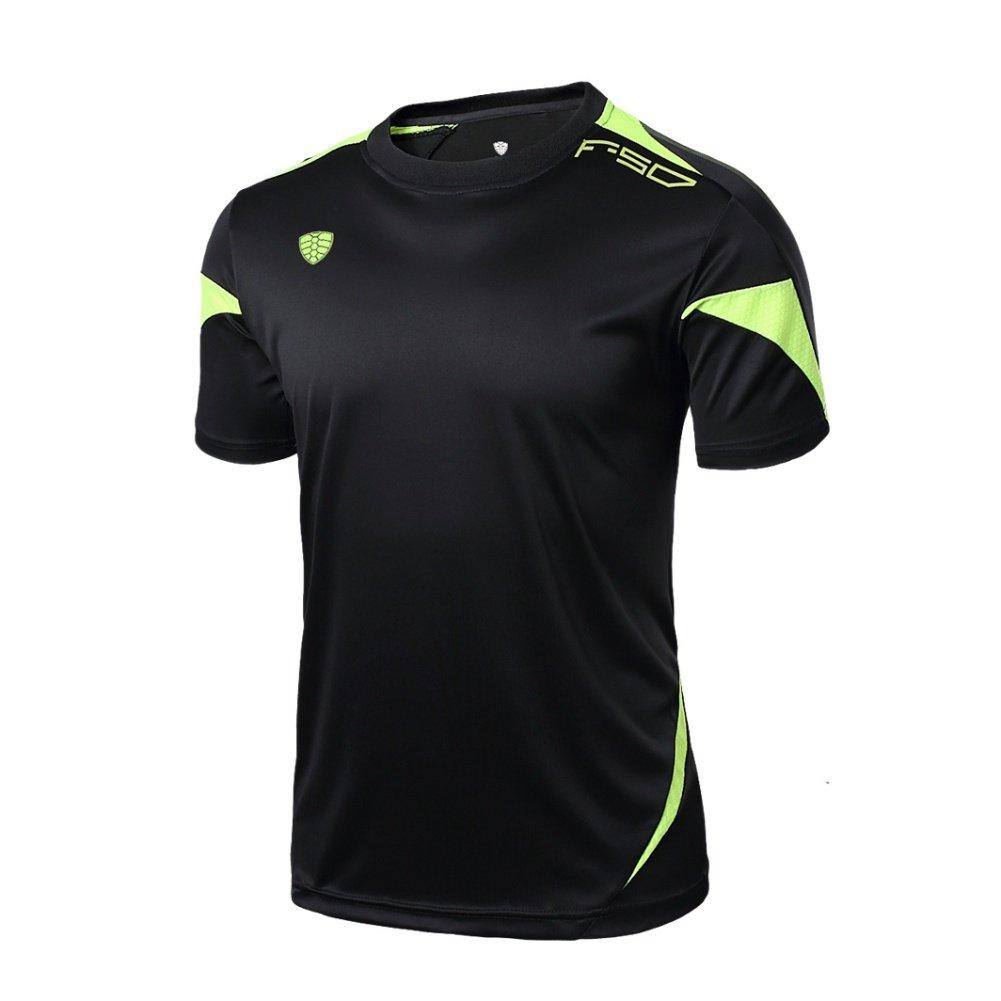 BOBORA - Camiseta manga corta de estilo informal para el gimnasio ...