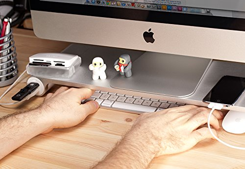 Tech Desk Decor: Space Bar Keyboard Organizer