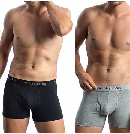 Pack de 2 Boxers para Hombre de algodón: Amazon.es: Ropa y accesorios