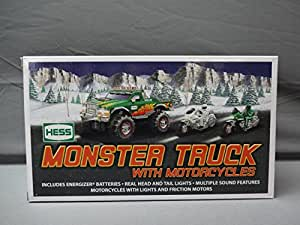 Hess 2007 Monster Truck w/ 2 Motorcycles