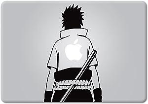YttBuy-Sasuke Naruto for MacBook Laptop car die-Cut Vinyl Decal Sticker (12 inch MacBook, Black)