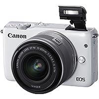 Canon EOS M10 Mirrorless Digital Camera with 15-45mm Lens (Gray) - International Version (No Warranty)