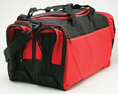 "Martial Arts Bag with Mesh, Boxing MMA Deluxe Equipment Bag,13""x27""x14"""