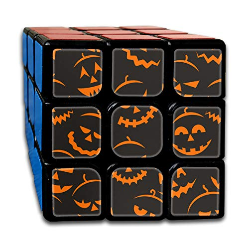 BSOTFY 3x3 Rubik Cube Scary Halloween Smooth Magic Cube Sequential Puzzle]()