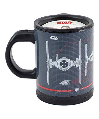 Star Wars Tie Fighter Self-Stirring Travel Mug - Mix Your Dr