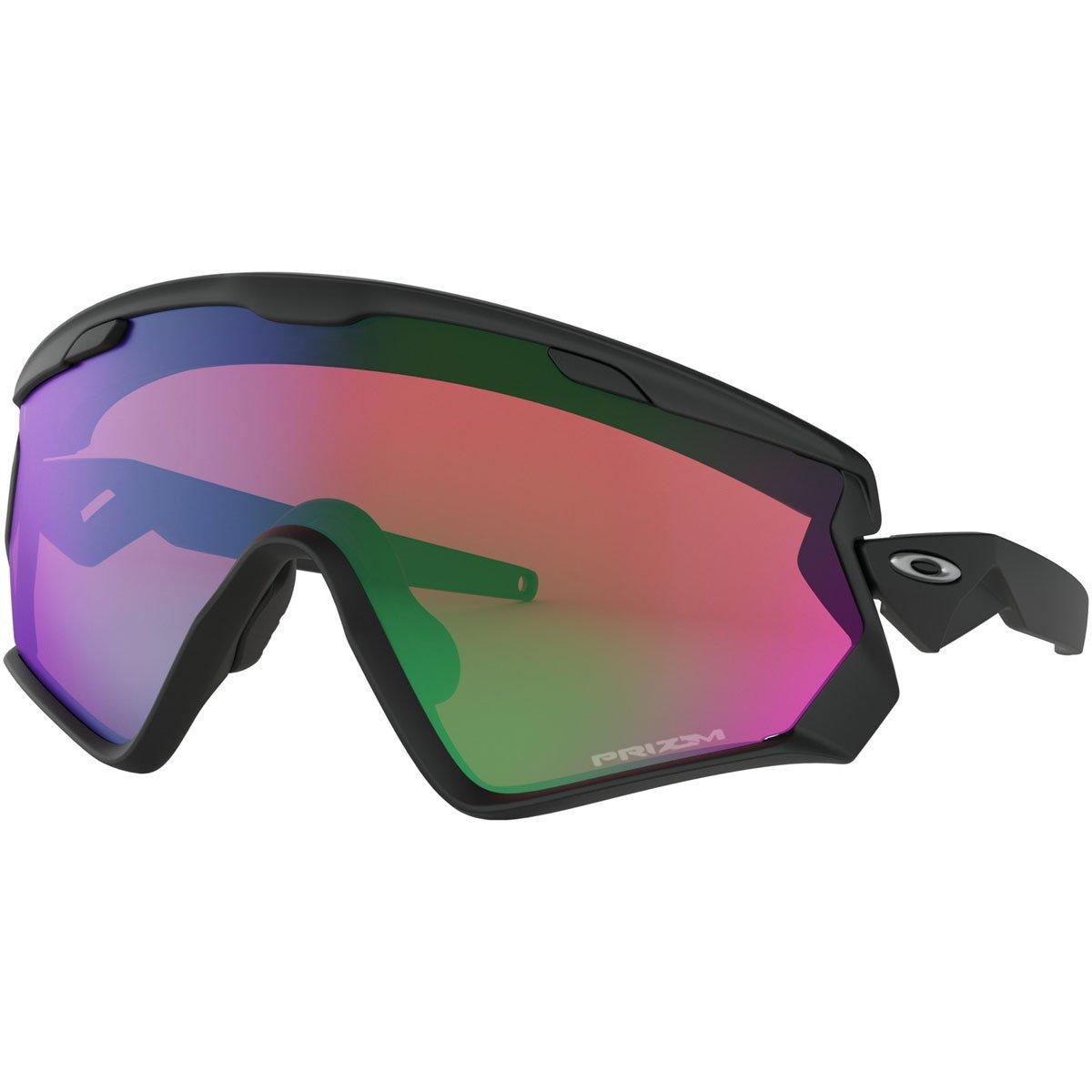 Oakley Wind Jacket 2.0 941801 Gafas de sol, Matte Black, 40 para Hombre