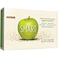 Detour Smart Gluten Free Oatmeal Bar, Apple Cinnamon, 1.3 Ounce, 9 Count