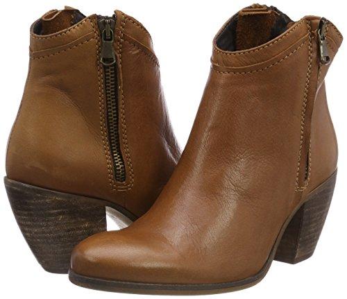 Para Mujer Marrón Botas Boot 082 Ankle Mentor brown Zip XZxWwv