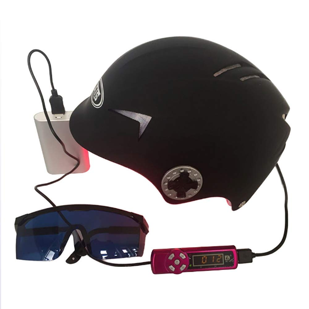 育毛ヘルメット急成長脱毛ソリューション男性と女性のダイオード治療ヘア帽子 B07T8419TM