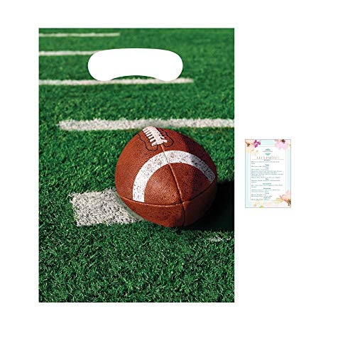 Football Party Favor Bags for 24 Guests ()