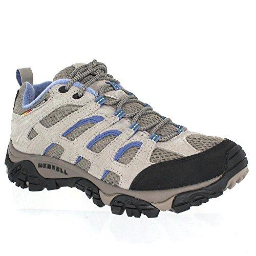 Merrell Women's Moab Ventilator Hiking Shoe,Aluminum/Marlin,10 M US by Merrell