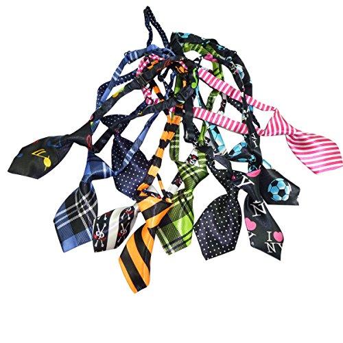 [Nasis new arrive pet dog cute bow tie Multicolors 11x4.5cm adjustable 5 Set! AL9001] (Cute Dog Costumes Uk)