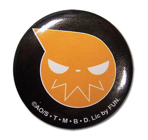 (Great Eastern Entertainment Soul Eater Logo Button, 1.25