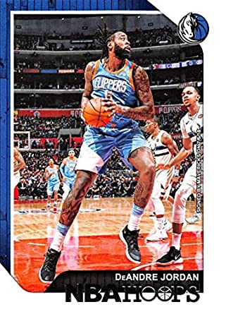 sports shoes 32581 f3f6b Amazon.com: 2018-19 Panini Hoops #135 DeAndre Jordan Dallas ...