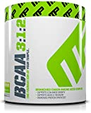 MusclePharm BCAA Powder, Muscle Recovery, Muscle Building, 6g Amino Acids, Lemon Lime, 30 Servings, 8.3 Ounce