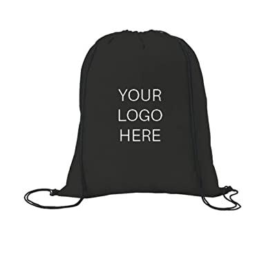 83abca693f1d Non-Woven Drawstring Backpack - 100 Qty - 1.93 Each - Promotional Product  with Your