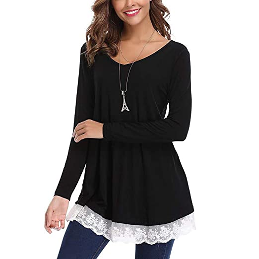 b1852c90f95e3 Image Unavailable. Image not available for. Color  Oliviavan Women s Casual  Loose Long Sleeve