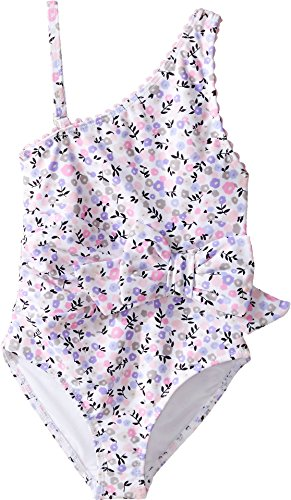 kate spade new york One Shoulder One-piece - Mini Floral - 4T