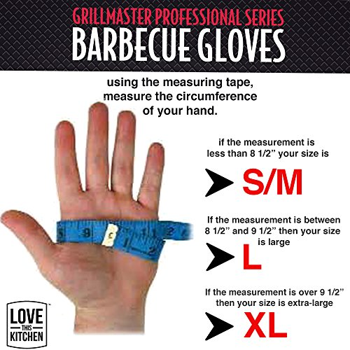 Latest-Technology-in-Mens-Silicone-Barbecue-Gloves-Heat-Resistant-for-Grilling-Cooking-Smoking-Protection-Great-BBQ-Grill-Oven-Mitts-Restaurant-Tested-135-Long-Set-of-2