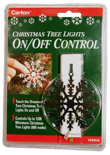 Xodus Innovations LLC 0190007 Snowflake Christmas Tree, Christmas Ornament On/Off Christmas Light Controller