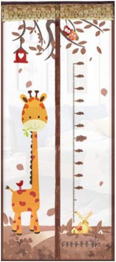 FJY Puerta de Malla mosquitera Puerta de Pantalla magnética codificada Escudo magnético - Repelente al Polvo, Transpirable, fácil de Instalar (Dimensiones, 100 x 200),90 * 220