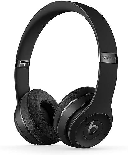 Beats Solo3 Wireless On-Ear Headphones – Black Renewed
