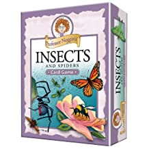 Outset Media Educational Trivia Card Game, Professor Noggin's Insects and Spiders
