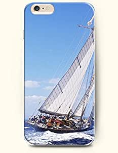 iPhone 6 Case 4.7 Inches Sea and Beach - Hard Back Plastic Phone Cover OOFIT Authentic by runtopwell