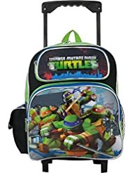 Ruz Teenage Mutant Ninja Turtles Toddler 12 Rolling Backpack