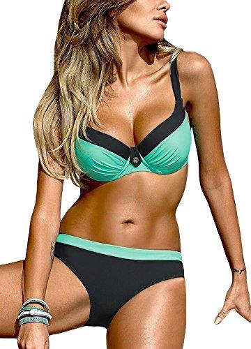 Cheap Underwire Bikini Sets in Australia - 1