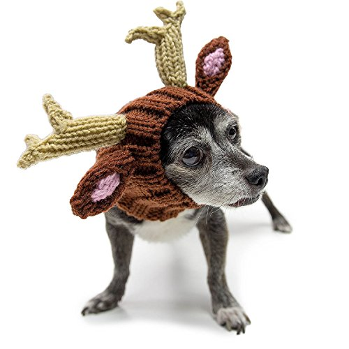 Zoo Snoods - The Original Knit Deer Dog Snood