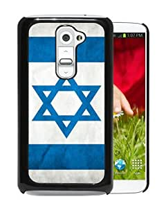 Popular LG G2 Case, Beautiful Designed Case With Israeli Israel Flag Black LG G2 Cover
