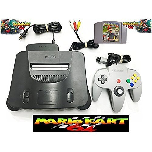 Nintendo 64 Bundle with Mario Kart 64