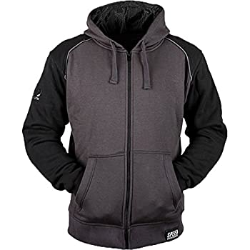 Speed & Strength Cruise Missile Armored Hoody (X-LARGE) (BLACK/CHARCOAL)