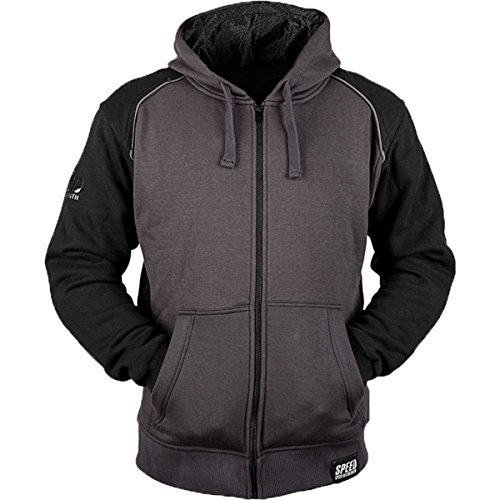 Speed & Strength Cruise Missile Armored Hoody (Small) (Black/Charcoal)