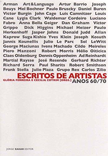 Escritos de artistas: Anos 60/70