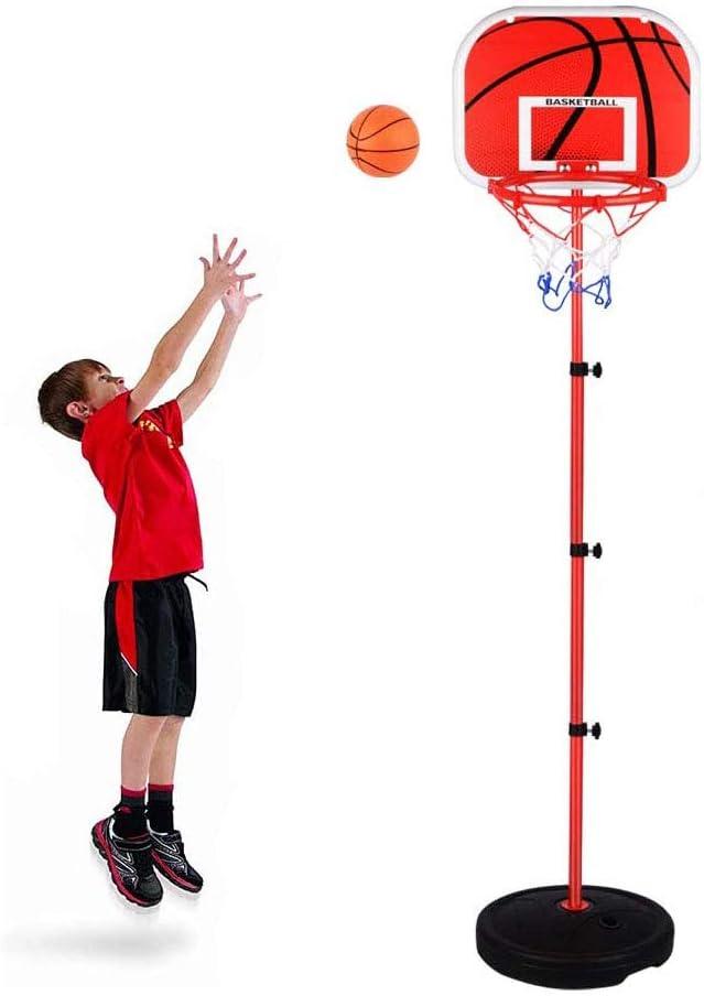 Arkmiido Panier de Basket pour Enfants 5 en 1 Centre dactivit/és Sportives Grow-to-Pro R/églable Score Facile Panier de Basket//Jeu de Football Ring Toss Cadeau pour gar/çons et Filles