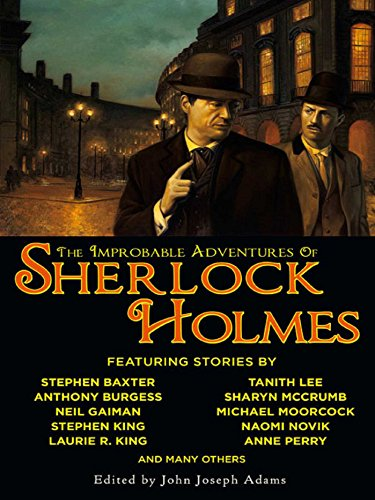 The Improbable Adventures of Sherlock Holmes cover