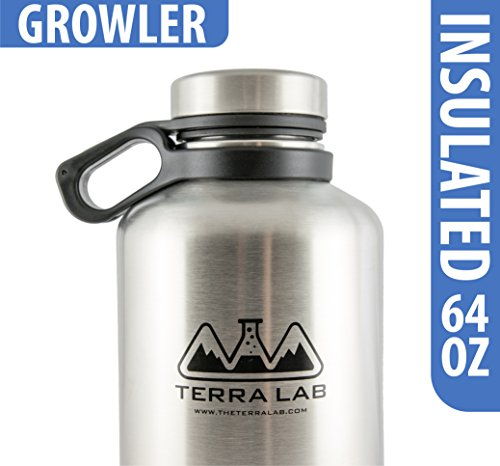 Stainless Steel Insulated Growler Bottle product image