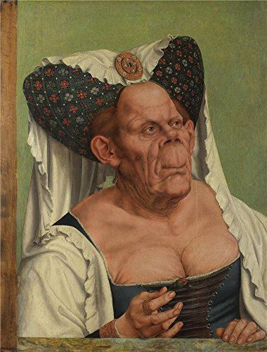 Costumes Duchess The Movie (The Perfect Effect Canvas Of Oil Painting 'Quinten Massys An Old Woman (The Ugly Duchess) ' ,size: 24 X 32 Inch / 61 X 80 Cm ,this Best Price Art)
