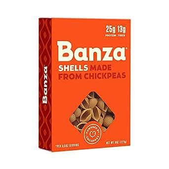 Amazon.com : Banza Chickpea Pasta - High Protein Gluten