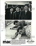 Historic Images - 1993 Press Photo Michael Badalucco, Carl Capotorto, John Turturro in Mac