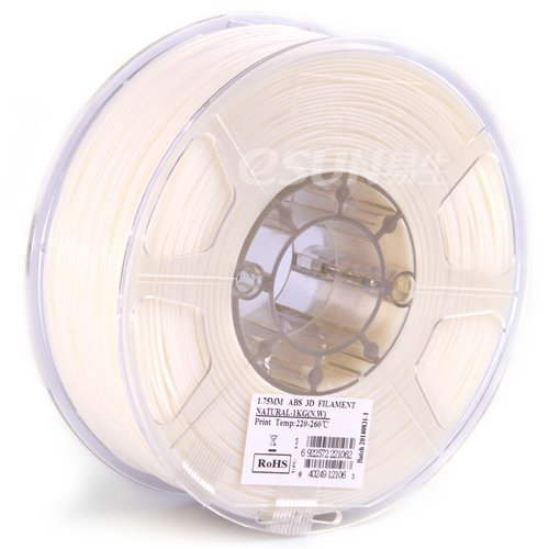 eSUN Natural Printer filament 2 2lbs
